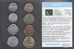 Pakistan Stgl./unzirkuliert Kursmünzen Stgl./unzirkuliert 1967-2005 1 Paisa Bis 2 Rupien - Pakistan
