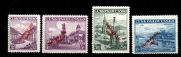 Slovaquie YT N° 18/21 Neufs *. Signés. B/TB. A Saisir! - Unused Stamps