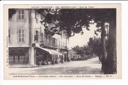 1499-MONTMEILLAN - Quai De L'Isère. Café Restaurant Tabac - Chauffage Centrale........ - Montmelian