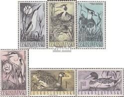 Tschechoslowakei 1228-1233 (kompl.Ausg.) Gestempelt 1960 Wasservögel - Tschechoslowakei/CSSR