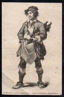 ANNEES 1890 - LE MARCHAND DE PEAUX DE LAPINS EN 1774 DESSIN DE MOUILLERON - Old Paper