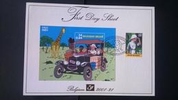 Tintin : Timbres Numéro 3049 + BL93 Sur FDS - FDC