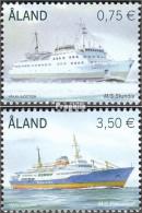 Finnland - Aland 325-326 (kompl.Ausg.) Postfrisch 2010 Fährschiffe - Aland