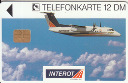 GERMANY(chip) - Interot(K 446), Tirage 4000, 12/94, Used - Vliegtuigen