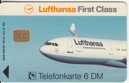 GERMANY(chip) - Lufthansa(O 114), Tirage 20000, 07/93, Used - Vliegtuigen