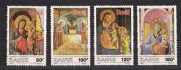 Zaire 1987 OCBn°  1323 - 1326*** MNH Cote 8,00 Euro Kerstmis - 1980-89: Neufs