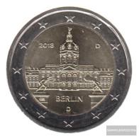 FRD (FR.Germany) 2018 D Stgl./unzirkuliert Reprint: 6 Million. Stgl./unzirkuliert 2018 2 Euro Castle Charlottenburg - Germany