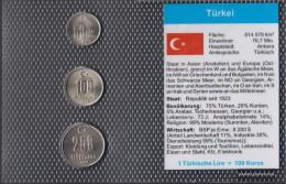 Turkey 2004 Stgl./unzirkuliert Kursmünzen Stgl./unzirkuliert 2004 50.000 Until 250.000 Lira - Turkey
