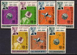 South Arabia 1966 ITU Centenary Set Of 7, MNH (A) - Aden (1854-1963)