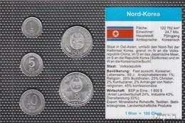 Nord-Korea Stgl./unzirkuliert Kursmünzen Stgl./unzirkuliert 1959-1987 1 Chon Bis 1 Won - Korea, North