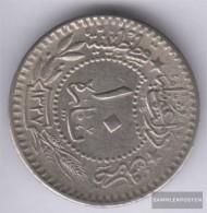 Turkey Km-number. : 768 1327 /8 Very Fine Nickel Very Fine 1327 10 Para Tughra El-Ghazi - Turkey
