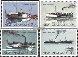 New Zealand 893-896 (complete Issue) Unmounted Mint / Never Hinged 1984 Fährschiffe - Unused Stamps