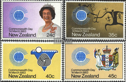 New Zealand 866-869 (complete Issue) Unmounted Mint / Never Hinged 1983 Commonwealth - Unused Stamps