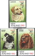 New Zealand 849A-851A (complete Issue) Unmounted Mint / Never Hinged 1982 Dogs - Unused Stamps