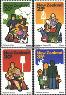 New Zealand 818-821 (complete Issue) Unmounted Mint / Never Hinged 1981 Family - Unused Stamps
