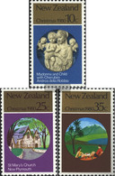 New Zealand 807-809 (complete Issue) Unmounted Mint / Never Hinged 1980 Christmas - Unused Stamps