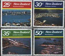 New Zealand 800-803 (complete Issue) Unmounted Mint / Never Hinged 1980 Landscapes - Unused Stamps