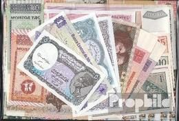 Alle Welt 25 Verschiedene Banknoten - Billets