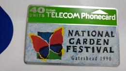 United Kingdom-(btc015)-gateshead Garden Festival(b)-(40units)-(041c)-price Cataloge6.00£-card+1card Prepiad Free - United Kingdom