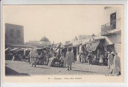 TUNIS - PLACE BAB DJELID - ANIMATION - MARCHE - N/C - TTB - Tunisie