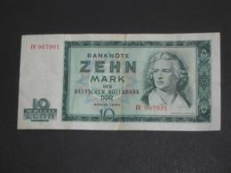 Banknote 10 Zehn Mark Der Deutschen Notenbank DDR - BERLIN 1964  **** EN ACHAT IMMEDIAT **** - [ 6] 1949-1990 : GDR - German Dem. Rep.