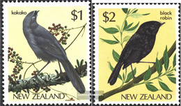 New Zealand 931-932 (complete Issue) Unmounted Mint / Never Hinged 1985 Birds - Unused Stamps