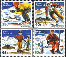 New Zealand 897-900 (complete Issue) Unmounted Mint / Never Hinged 1984 Winter Sports - Unused Stamps