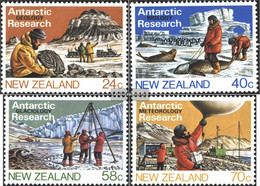 New Zealand 889-892 (complete Issue) Unmounted Mint / Never Hinged 1984 Antarctica - Unused Stamps