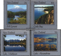 New Zealand 874-877 (complete Issue) Unmounted Mint / Never Hinged 1983 Landscapes - Unused Stamps
