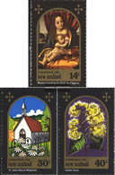 New Zealand 831-833 (complete Issue) Unmounted Mint / Never Hinged 1981 Christmas - Unused Stamps