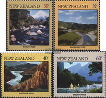 New Zealand 822-825 (complete Issue) Unmounted Mint / Never Hinged 1981 River Landscapes - Unused Stamps