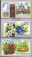 New Zealand 793-795 (complete Issue) Unmounted Mint / Never Hinged 1980 Anniversaries - Unused Stamps