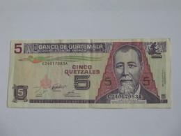 5 Cinco Quetzales 1995 - Banco De Guatemala   **** EN ACHAT IMMEDIAT **** - Guatemala