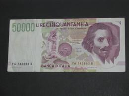 50 000 Cinquantamila 1992 - Banca D'Italia   **** EN ACHAT IMMEDIAT **** - [ 2] 1946-… : République