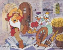 Sierra Sierra Leone Leone Block40 (complete Issue) Unmounted Mint / Never Hinged 1985 Walt-Disney-Figures - Sierra Leone (1961-...)