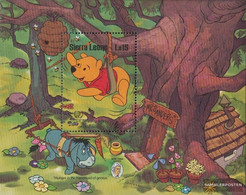 Sierra Sierra Leone Leone Block39 (complete Issue) Unmounted Mint / Never Hinged 1985 Walt-Disney-Figures - Sierra Leone (1961-...)