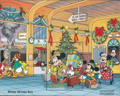 St. Vincent Block62 (complete Issue) Unmounted Mint / Never Hinged 1988 Christmas:Walt-Disney-Figures - St.Vincent (1979-...)