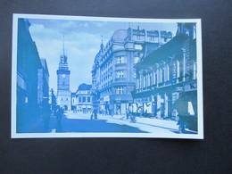 Böhmen Und Mähren 1941 Nr. 62 Zf Echtofoto Postkarte Pardubitz. Roter Sonderstempel 31.X..41 - Briefe U. Dokumente
