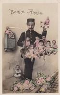 """Baby's, Bébés, Distributed By The Postman, """"Bonne Année"""". (pk43926) - Cartes Humoristiques"""