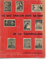 Livret Ce Que Chacun Doit Savoir De La Tuberculose. 30 Pages. - Santé