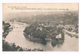 SAINT RAMBERT - L'ILE - BARBE  69  Vue Sur L'ile En 1918 - Autres Communes
