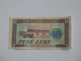 5  Pese Leke 1964 - Anka E Shtetit Shqiptar  **** EN ACHAT IMMEDIAT **** - Albanie