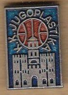 Basketball Club Jugoplastika, Split, Croatia, Yugoslavia / Pin, Badges, Badge - Pallacanestro