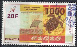 Tahiti 2014 Oblitéré Used Nouveaux Billets De Banque XPF Franc Pacifique SU - Polynésie Française