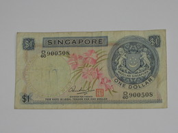 1 One Dollar 1967-1972 - SINGAPORE    **** EN ACHAT IMMEDIAT **** - Singapour