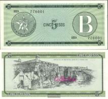 Cuba Pick-number: FX7 Uncirculated 1985 5 Pesos - Cuba
