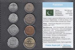 Pakistan Stgl./unzirkuliert Kursmünzen Stgl./unzirkuliert 1967-2005 1 Paisa Until 2 Rupien - Pakistan