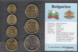 Bulgaria 1992 Stgl./unzirkuliert Kursmünzen Stgl./unzirkuliert 1992 10 Stotinka Until 10 Lew - Bulgaria