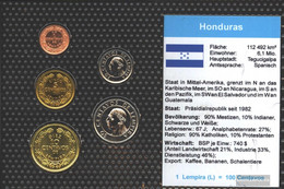 Honduras Stgl./unzirkuliert Kursmünzen Stgl./unzirkuliert 1991-1996 1 Centavo Until 50 Centavos - Honduras