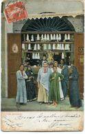 CPA - Carte Postale - Maroc - Native Grocery - 1910 (CP1280) - Africa